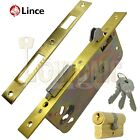 Lince High Security Mortice Sliding Door Auto Locking Hook Claw Bolt Sash Lock