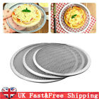 Aluminum Mesh Grill Pizza Screen Round Baking Tray Net Kitchen Ovens Kit