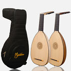 Muzikkon Renaissance Deluxe Lute, Right And Left Handed Lute Inc Bag