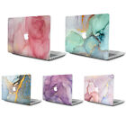 "Marbled Front/Back Matte Hard Shell Case for 2010-2020 MacBook Air Pro 13"" 13.3"""