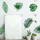 Ln_ 6pcs Nordic Palm Leaves Children Home Room Bedroom Decorative Wall Sticker