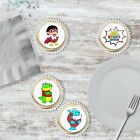 24 Pre Cut Circle Ryans World Cupcake Toppers Wafer & Icing Toppers