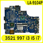 Akemy Laptop motherboard For DELL Inspiron 3521 997 i3 i5 i7 Mainboard LA-9104P