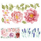 Flower Wall Stickers Mural Home Bedroom Living Room Decoration Wallpaper Decal