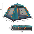 4-6 Person Instant Popup Camping Tent Breathable Folding Tent Hiking Outdoor
