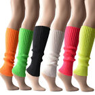 1Pair Leg Warmers Women Winter Thick Cable Knit Thigh-High Hosiery Socks Soft