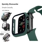 3 in 1 Case  Glass  Strap For Apple Watch All Series Models Sizes and Colors