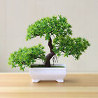 1x Welcoming Pine Bonsai Simulation Artificial Potted Plant Ornament Home Decor