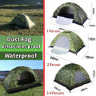 1~4Persons Tent Waterproof Camouflage Tent Outdoor Camping Tent tourism Tent US