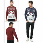 Mens Sexy Snowman Xmas Jumper Adults Novelty Christmas Festive Knitted Sweater