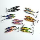 Mackerel spinners pike bass lures choice of 7 colours 30g ea sea fishing tackle