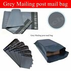 6.5 x 9 GREY STRONG MAILING BAGS PLASTIC POSTAL MAIL POSTAGE POLY 100 500 1000