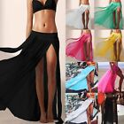 Frauen Bikini Cover Up Badeanzug Vertuschung Wickelkleid Strandkleid Sommer Rock