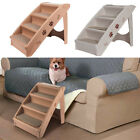 Pet Step Stair 4 Step Folding Pet Stairs Puppy/ Dog/ Cat Steps Bed Sofa Car Ramp