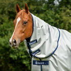 Bucas Power Combi Horse Rug Neck Cover - Silver All Sizes