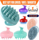 Shampoo Scalp Massager Shower head Washing Hair Grow Massage Brush Comb Silicone