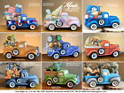 Ceramic Bisque Pickup Truck or Jalopy Truck w/ Inserts Ready to Paint Unpainted