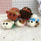 4.5'' Pui Pui Molcar Guinea Pig Plush Doll Keychain Hanging Toy Birthday Gift