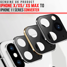 Camera Lens Sticker CONVERT iPhone X, XS MAX, XR to iPhone 11 in Seconds