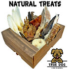 Natural Dog Treat Selection Pack | 30+ Chew Treats, Pigs Ears, Rabbit, Chicken