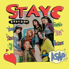 STAYC - STAYDOM (2nd Single Album) CD+Photobook+Photocard+Sticker+Folded Poster