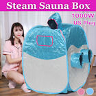 Portable Steam Sauna Tent Spa Slimming Loss Weight Full Body Detox Therapy 2.6L