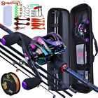 FULL COMBO Casting Fishing Set ROD + REEL & CASTING Accessories