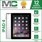 Apple iPad 4th Generation 32GB Wi-Fi 9.7in Retina Display - 12 Month Warranty