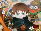 Anime Attack on Titan Levi Rivaille Eren Jaeger Plush Doll Toy Stuffed Gift