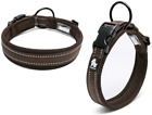 Kismaple Cosy Soft Padded Reflective Dog Collar Adjustable Extra Large Dogs Coll