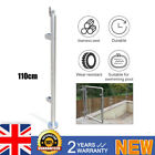 Balcony Stairs Pool Post Glass Balustrade Railing Glazing Stainless Steel Pole