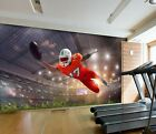 3D Rugby Player 19829NA Wallpaper Wall Murals Removable Wallpaper Fay