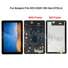 ET For Amazon Fire HD 8 2018 L5S83A HD8 2020 LCD Touch Digitizer Assembly ±Frame