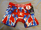 SWAG America USA 4th of July Tie Dye Patriotic Boxer Briefs *All Sizes* Free 🚚