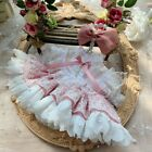 Hand-made For Doll Clothes Clothing Dress Suit Pink Lace Ladies Skirt Outfits XM