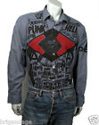 seditionaries repro ANARCHIST PUNK GANG shirt neck size  14.5 - 19