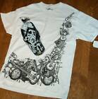 Mens ATSC Brand T-shirt music & band & flip flop set