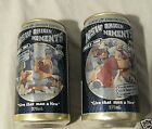 2 STATE OF ORIGIN CANS -  Games 2/2001 & 2/2000, EMPTY