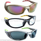 FLORIDA Safety Specs Glasses Spectacles Sunglasses Clear Mirror Tinted Cycling
