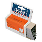 DRAPER HEAVY DUTY STAPLES 6MM 8MM 10MM 12MM 14MM T50