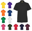 Mens Active Pique Polo T Shirts Size XS to 6XL By MIG - SPORTS CASUAL WORK 105