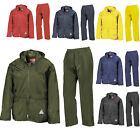WEATHERGUARD ADULTS WATERPROOF JACKET / TROUSERS AND CARRY BAG - 6 COLOURS BNWT