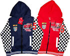 DISNEY PIXAR CARS Childrens Kids Boys Jacket Coat Zip Hoodie Top Clothes Toys