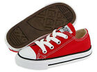 NEW INFANT TODDLER CONVERSE ALL STAR OX CHUCK TAYLOR RED 7J236 ORIGINAL SO CUTE