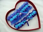 NEW SEXY Bridal Wedding Garter Turquoise/Purple/Royal Blue Prom GetTheGoodStuff