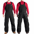 Dickies Sanded Duck Bib Overall Insulated Linning TB246 BLACK