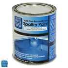 GM Cars Aqua / Black Trunk Splatter Paint - Professional Quality - Quart