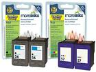 4 Remanufactured HP 56 / 57 Ink Cartridges for PSC 2405 Printer & more