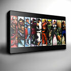 STREET FIGHTER 4 CHARACTERS - GICLEE CANVAS ART