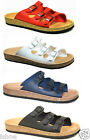 WOMENS BIRKENSTOCK RELAX 300 MOULDED FOOTBED BUCKLE FLAT SANDALS SHOES SIZES 3-9